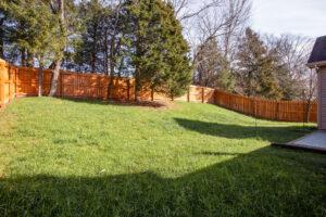 yard for 7908 Oakfield